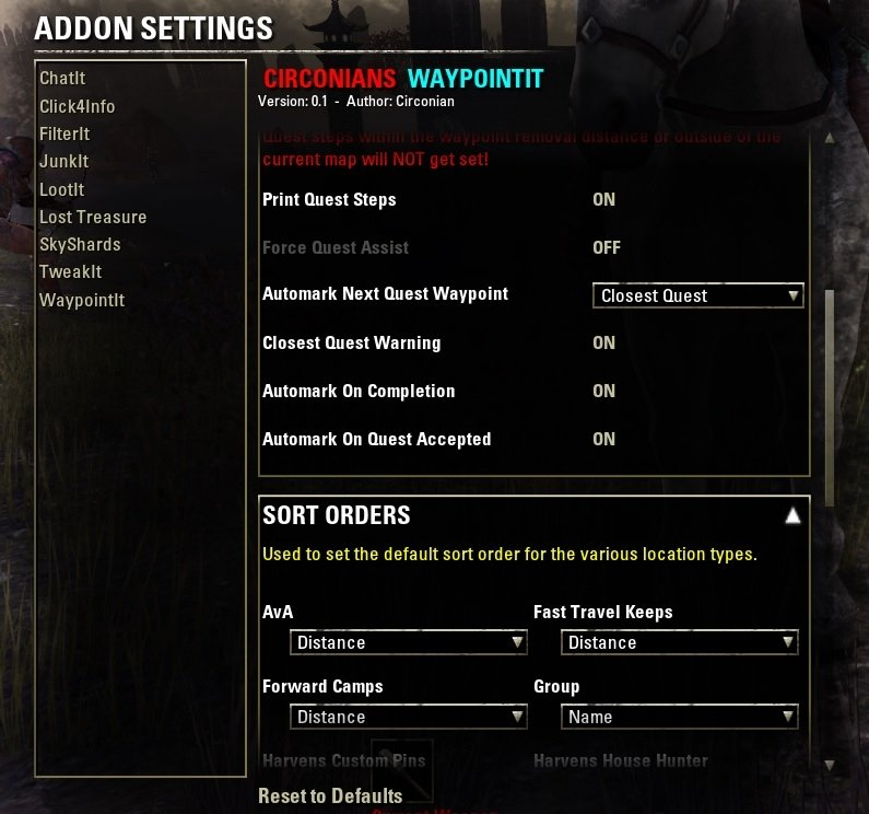 how to change guild slots eso