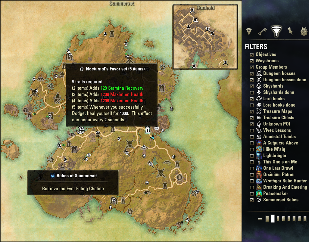 Map Pins : Map, Coords, Compasses : Elder Scrolls Online AddOns