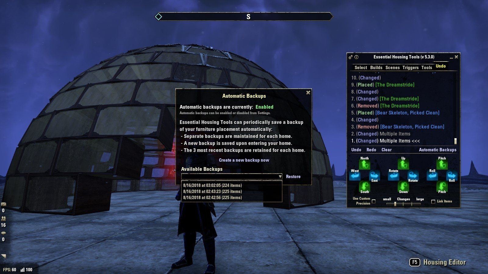 Essential Housing Tools : Homestead : Elder Scrolls Online