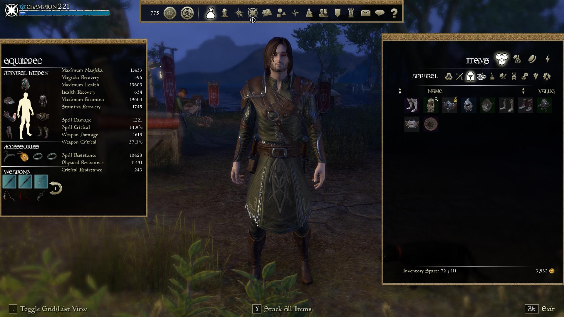 Morrowind Style UI : Graphic UI Mods : Elder Scrolls Online AddOns